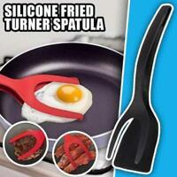 Hitzebeständige Silikon Spatel 2-in-1 Pfannkuchen Toast Omelette Küchenzubehör
