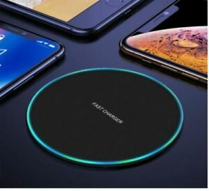 20W Fast Wireless Charger Qi Pad For Samsung Galaxy for iPhone