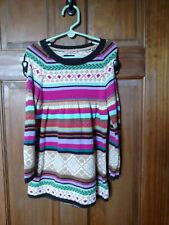 GAP KIDS Girl's Himalaya Fair Isle Dress - Size XS (4-5)