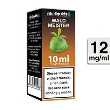 E-Liquid Nikoliquids Waldmeister 12 mg/ml Flasche 10 ml / 87528