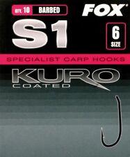 10 Hameçons carpes ESP RAPTOR BIG-T taille n°1//0 neuf