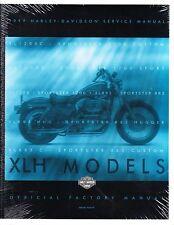 1999 Harley Sportster XL1200 XL883 Service Repair Workshop Manual NEW 99484-99