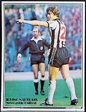 FOOTBALL PLAYER PICTURE IRVING NATTRASS NEWCASTLE UNITED SHOOT