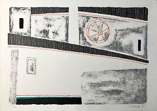 Luigi SPACAL Scala e gioghi 1971 litografia originale  firmata