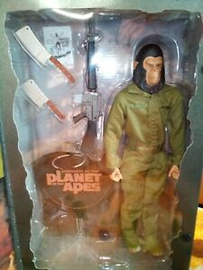Sideshow EXCLUSIVE (with Circus Flyer) Conquest Planet Of The Apes Caesar