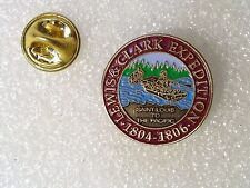 PIN'S LEWIS & CLARK EXPEDITION 1804-1806 CANADA