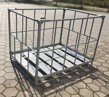 Palettenbox Gitterbox  Metallbox Container EXPORTBOX Faltbox GLT IBC Paletten