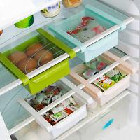 Slide Kitchen Tidy Fridge Freezer Space Save Organizer Storage Rack Shelf HQ /MY