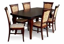Esstisch + 6x Stühle Stuhl Esszimmer Set Essgruppe Modern Tisch Tische Neu Z11