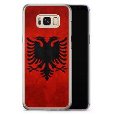 Samsung Galaxy S8 Plus - Hard Case Hülle - Albanien Albania Motiv Design Schutz