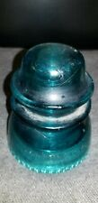 New ListingHemingray #42 Aquamarine Insulator