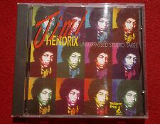 Jimi Hendrix bootleg Unsurpassed Studio Takes CD