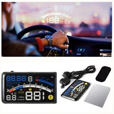 Luxury car OBD5.5 inch universal HUD  driving data projection fighter experience