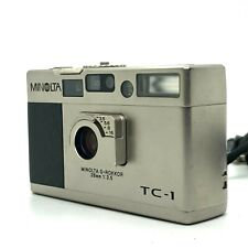 【EXC++】 Minolta TC-1 Point & Shoot 35mm Compact Film Camera From JAPAN #993
