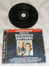 THE RIGHTEOUS BROTHERS Unchained Melody: Best of CD 1990 Curb
