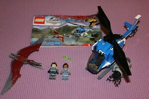 LEGO Jurassic World 75915 Pteranodon Capture complete w/minfigs & instructions