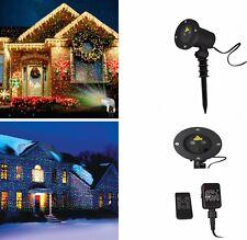 6 in 1 LED Laser Projektor Lampe Lichteffekt Strahler Außenbeleuchtung GX6M