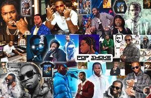 POP SMOKE Collage Poster