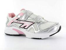 Girls Hi-tec Trainers Label R157 JRG EZ White/ Silver/ Candy 11 UK Standard