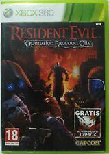 Resident Evil Operation Raccoon City. XBox 360. Fisico. Pal España