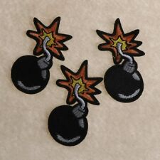 Bomb Patch Garment DIY Apparel Embroidered Applique Sewing Patch Clothes Sticker