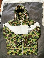 Adidas X Bape Down Jacket Large