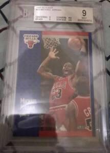 Michael Jordan 1991 BGS 9 FLEER #29