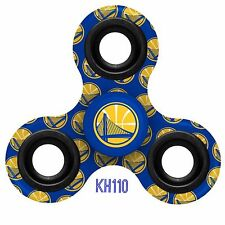 NBA Golden State Warriors Three Way Printed Fidget Spinner Toy Finger