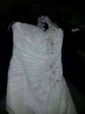 davids bridal wedding dress set