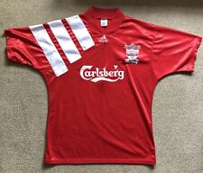 Liverpool fc retro shirt 1992-93 home shirt in good condition.