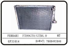 FERRARI F599 GTO GTB COMPLETE RACING ALUMINUM RADIATOR, READ DESCRIPTION