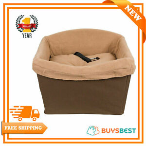 PetSafe Happy Ride Dog Safety Seat Pet Booster Seat For Cars Trucks PTV17-16911