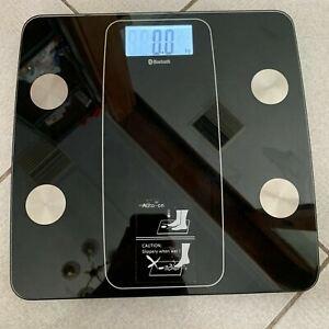 Bluetooth Body Analysis Weight Smart Scale