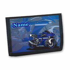 Motorbike Motorcycle Personalised Boys Kids Wallet