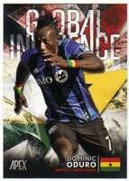 2016 Topps Apex Soccer Global Influence #GI-DO Dominic Oduro
