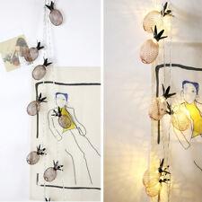 1,5M/3M 10LED/20LED Lichterketten mit Ananas Fruit Battery Box LED Lampe String