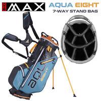Big Max Aqua EIGHT Waterproof Golf Stand Bag Petrol/Black/Orange - NEW! 2021