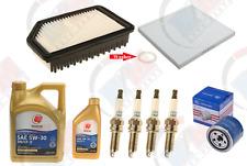 Tune Up Kit with DENSO Iridium Spark plugs + 6QTS IDEMITSU Oil for Hyundai & Kia