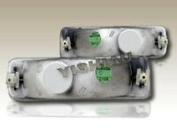 89-95 TOYOTA PICKUP / 4RUNNER CLEAR BUMPER SIGNAL LIGHTS LAMPS