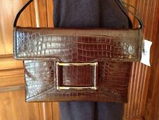 New Crocodile/ Alligator Lambertson Truex Handbag Bag Clutch