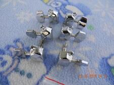 Set of DeArmond Closed Back Tuners,3-Left/3-Right, From MC-65C,Indonesian,Nice