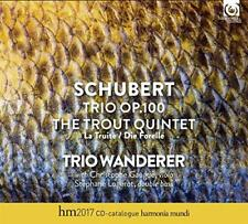 Trio Wanderer & Gaugue & Logerot - Schubert: Trio Op. 100 D929, Trout Q (NEW CD)
