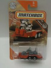 Matchbox #99 Mbx Cycle Trailer With Chopper Motorcycle