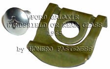 FITS FORD GALAXIE 1965 WINDSHIELD REAR GLASS REVEAL MLDG CLIPS 20