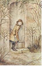 RARE Vintage 1990s Tasha Tudor MINT Print called The Secret Garden