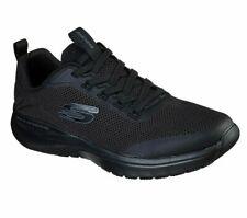 Slipon Skechers Black Shoes Men Memory Foam Train Sport Comfort Mesh Soft 232031