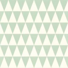Rasch Textil Tapete 128843 Triángulo Triángulos Gráfico Verde Claro
