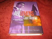 Abe Lemons : Court Magician by Kenny Franks and Bob Burke (1999, HDCVR) (SIGNED)