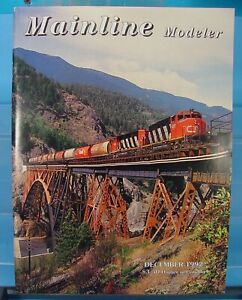 HO,S,N,O MAINLINE MODELER MAGAZINE DECEMBER 1992 TABLE OF CONTENTS PICTURED