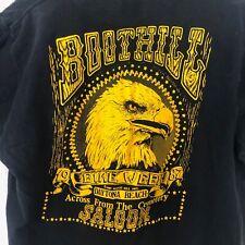 New listing Vintage Bike Week T-Shirt Boothill Saloon Size L Large 1987 Single Stitch Biker